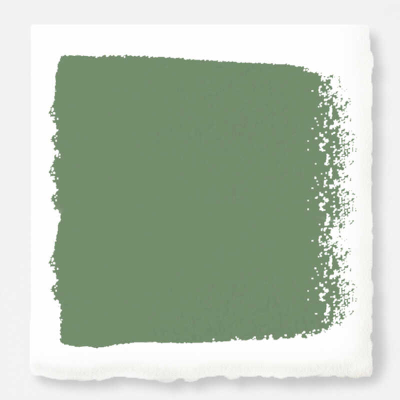 Magnolia Home  by Joanna Gaines  Eggshell  Magnolia Green  Deep Base  Acrylic  Paint  1 gal.