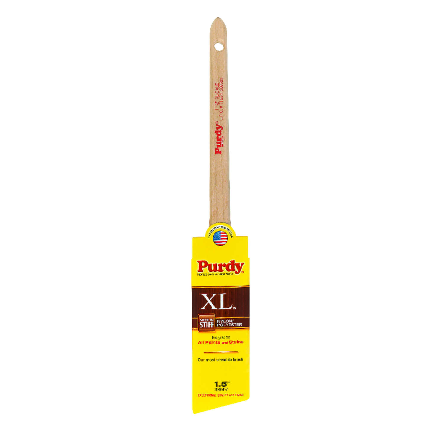 Purdy  XL  1-1/2 in. W Angle  Trim Paint Brush  Nylon Polyester