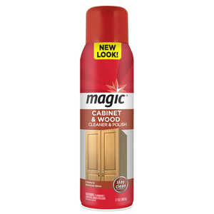 Magic  Cherry Scent Cabinet and Wood Cleaner  17 oz. Spray