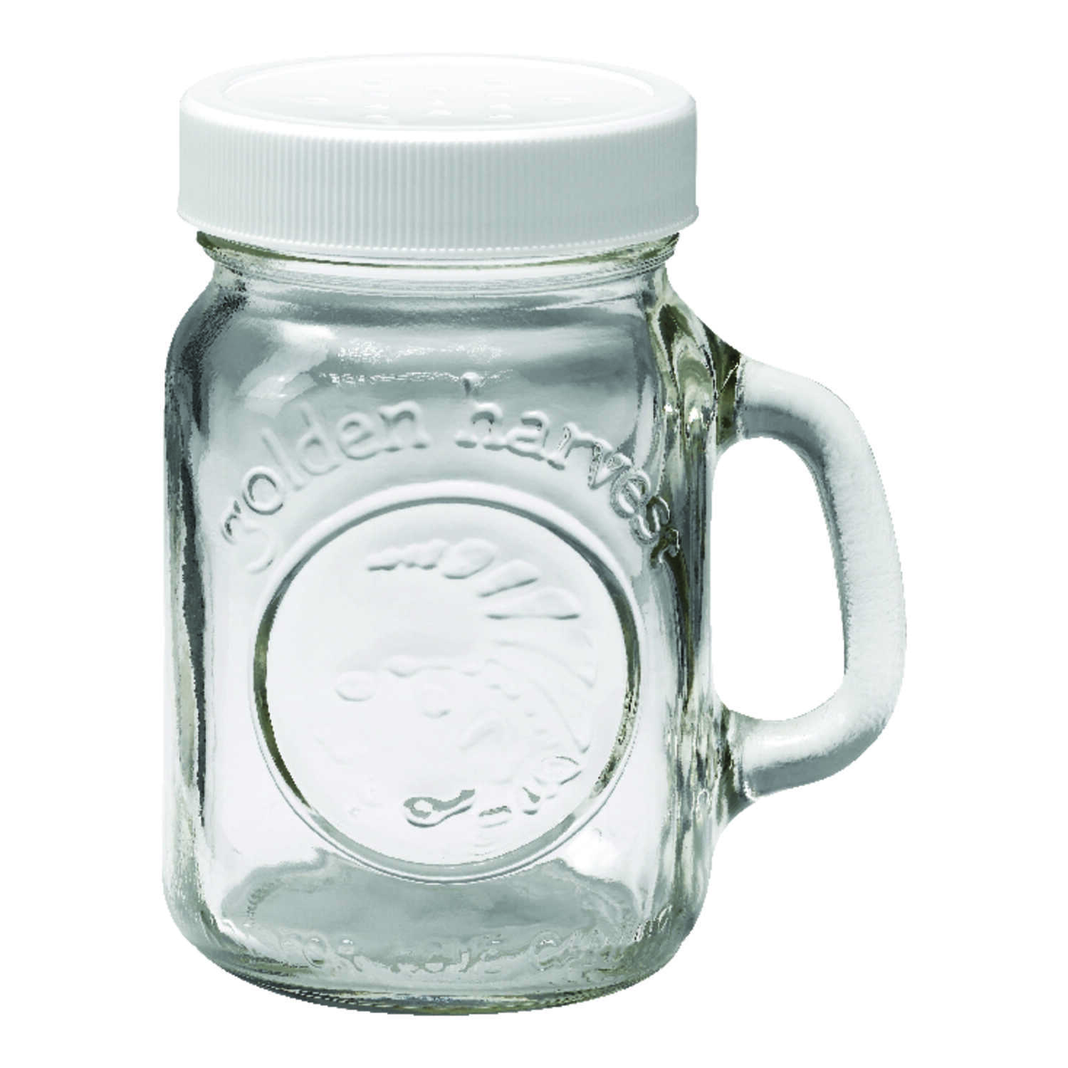Golden Harvest  Clear  Salt and Pepper Set  2 pk
