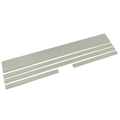 Johnson Hardware White Wood Pocket Door Jamb Kit 3 pc.