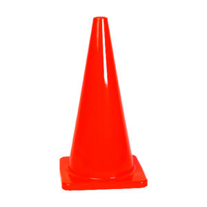 Hy-Ko  28 in. Round  Orange  Safety Cone  1 pk