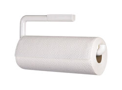 InterDesign Plastic Screw Mount Paper Towel Holder 5 in. H x 1 in. W x 13 in. L