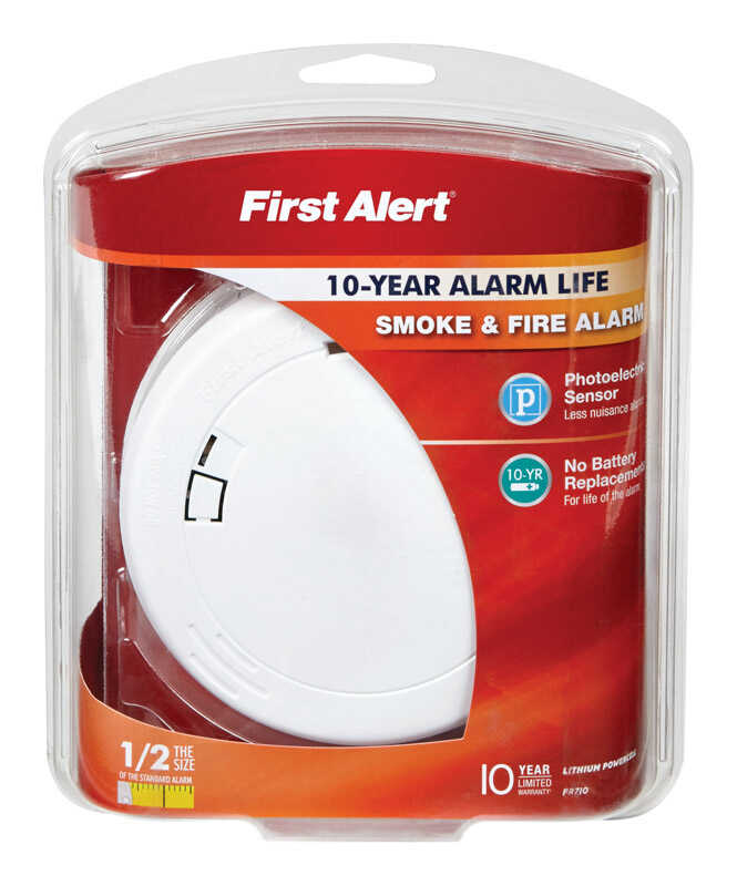 First Alert  Photoelectric  Smoke Alarm