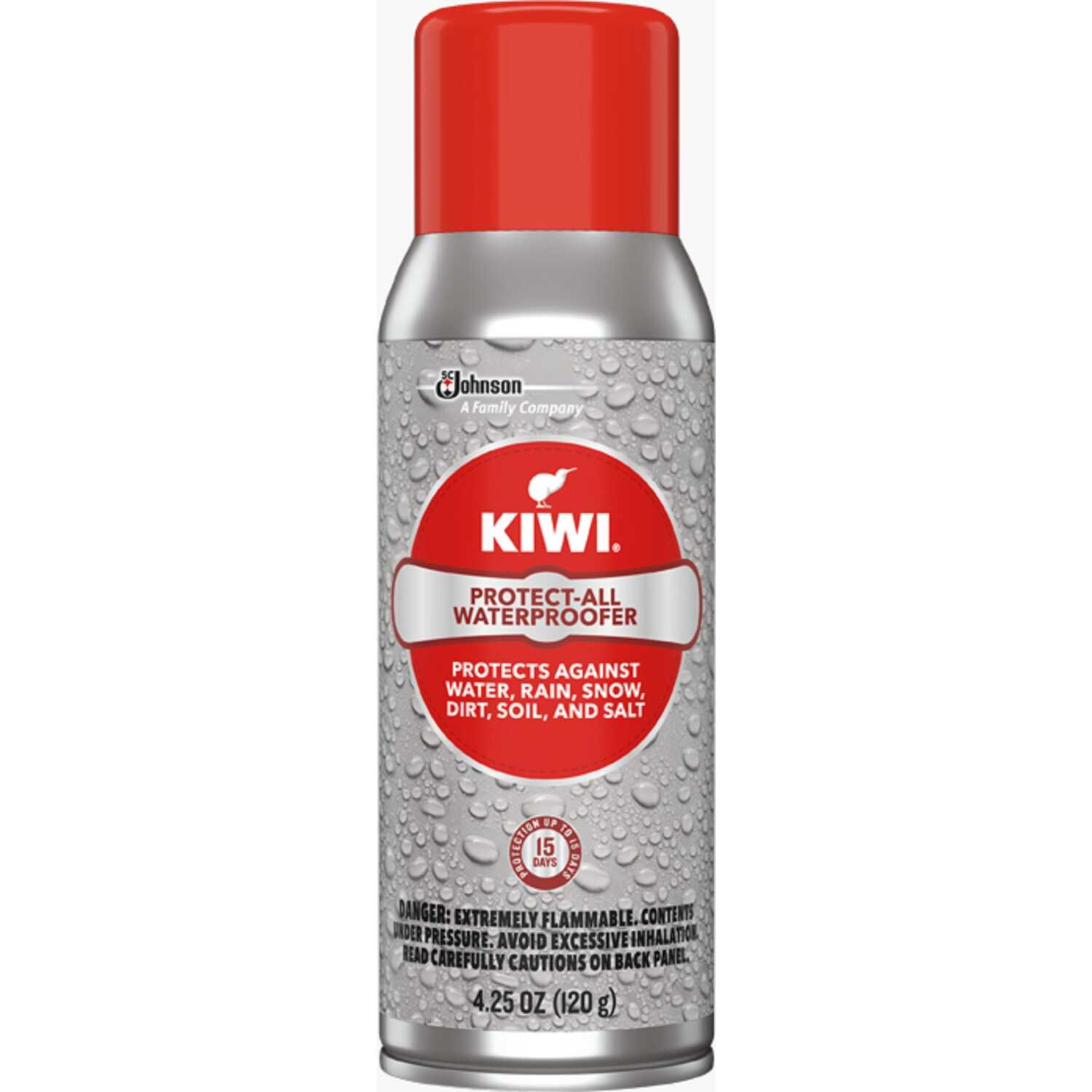 Kiwi  Protect-All  Clear  Fabric Protector  4.25 oz.