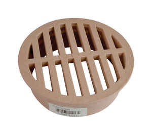 NDS  4 in. Polyolefin  Round  Drain Grate