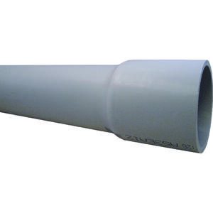 Cantex  1-1/4 in. Dia. x 10 ft. L PVC  Electrical Conduit  For Rigid