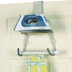 Household Essentials  15.5 in. H Metal/Plastic  Iron Board Holder
