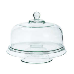 Anchor Hocking  Clear  Glass  4-In-1 Cake Set  1 pk