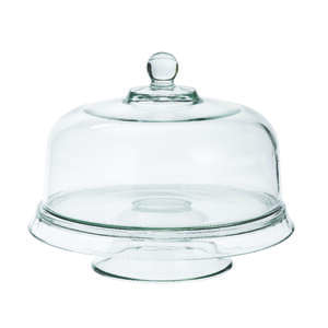 Anchor Hocking  Clear  cake set  4-In-1 Cake Set  1 each Glass
