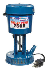 Dial  8-1/2 in. H x 4-1/2 in. W Plastic  Blue  Evaporative Cooler Pump