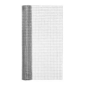 Garden Zone  24 in. W x 10 ft. L Silver Gray  Steel  Hardware Cloth  1/2 in.
