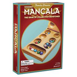 Pressman  Mancala  Board Game  Multicolored