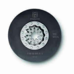 Fein Starlock  Multimaster  3-3/8 in.  x 3-3/8 in. L High Speed Steel  Saw Blade  1 pk
