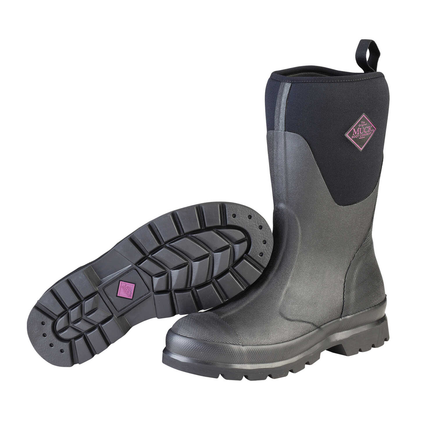 The Original Muck Boot Company  Chore Mid  Women's  Boots  10 US  Black