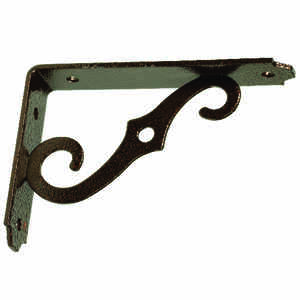 Ace  Brown  Steel  Shelf Support  5 in. L 80 lb.