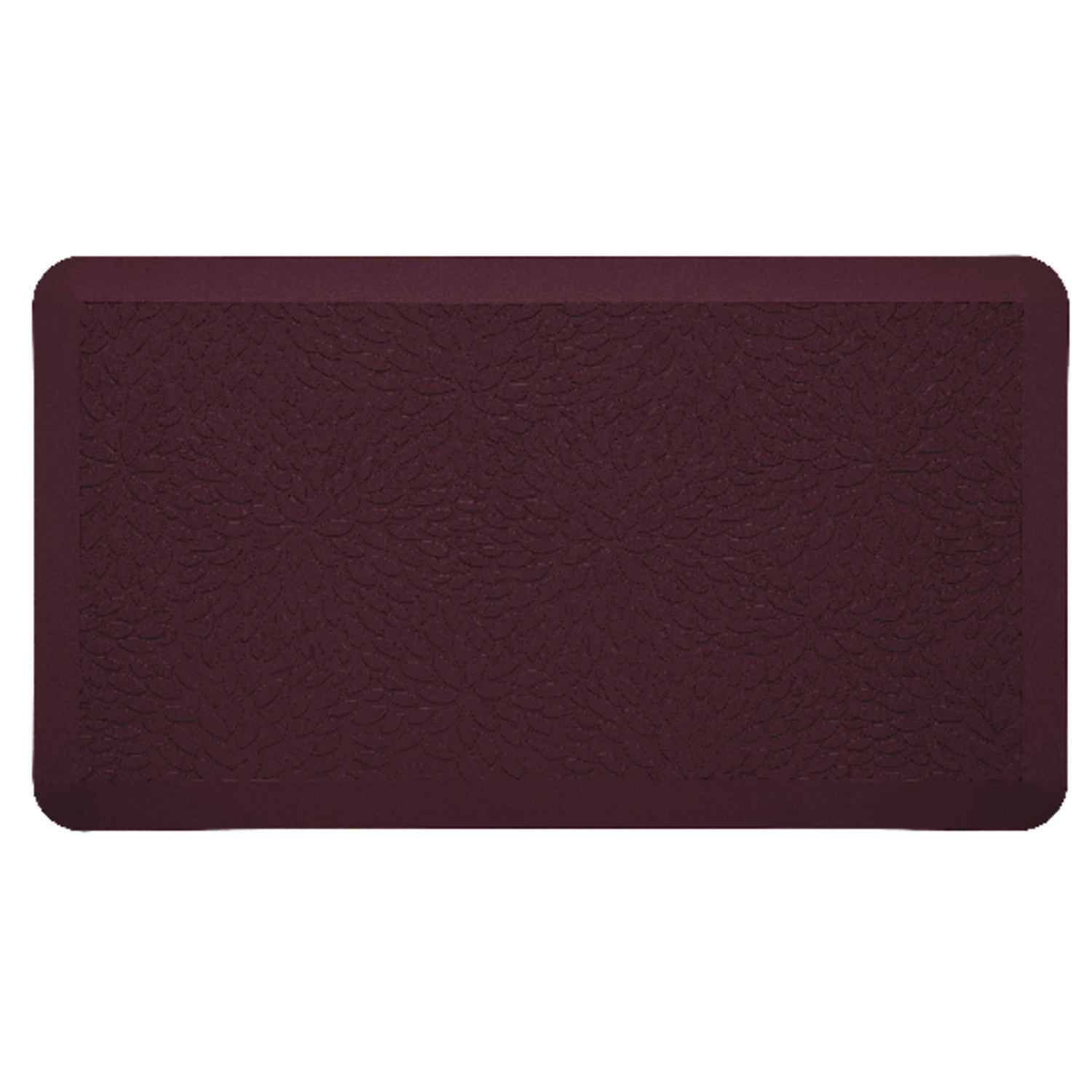Comfort Co.  Brown  Polyurethane  Nonslip Anti Fatigue Mat  30 in. L x 18 in. W