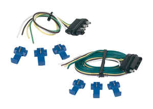 Hopkins  Trailer Connector Kit  4 Flat