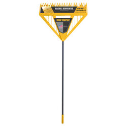 True Temper 71 in. L x 26 in. W Poly Leaf Rake Steel Handle