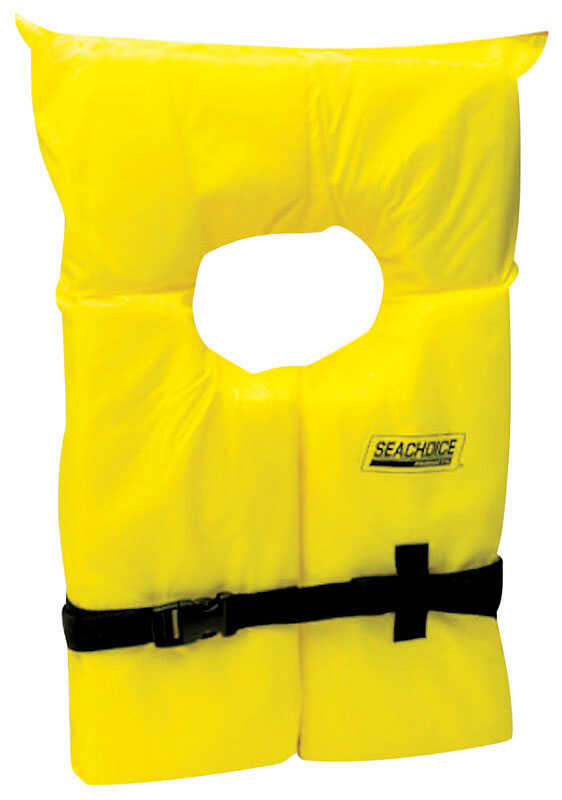 Seachoice Adult Life Vest US Coast Guard Approved Extra-Large