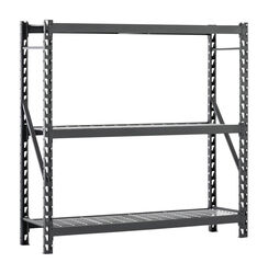 Edsal  Muscle Rack  72 in. H x 77 in. W x 24 in. D Steel  Shelving Unit