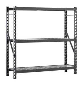 MUSCLE RACK  EDSAL  72 in. H x 77 in. W x 24 in. D Steel  Shelving Unit