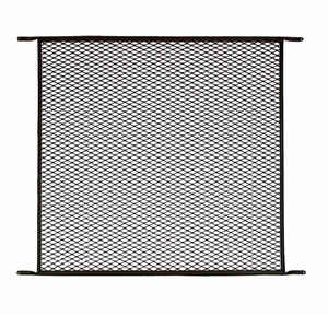 M-D Building Products  Aged Bronze  Bronze  Aluminum  Door Grille  1 pk