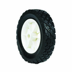 Arnold  1.5 in. W x 6 in. Dia. Plastic  Lawn Mower Replacement Wheel  50 lb.
