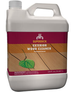 Superdeck  Wood Cleaner  1 gal. Liquid