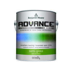 Benjamin Moore  Advance  Semi-Gloss  Base 3  Paint  Interior  1 gal.