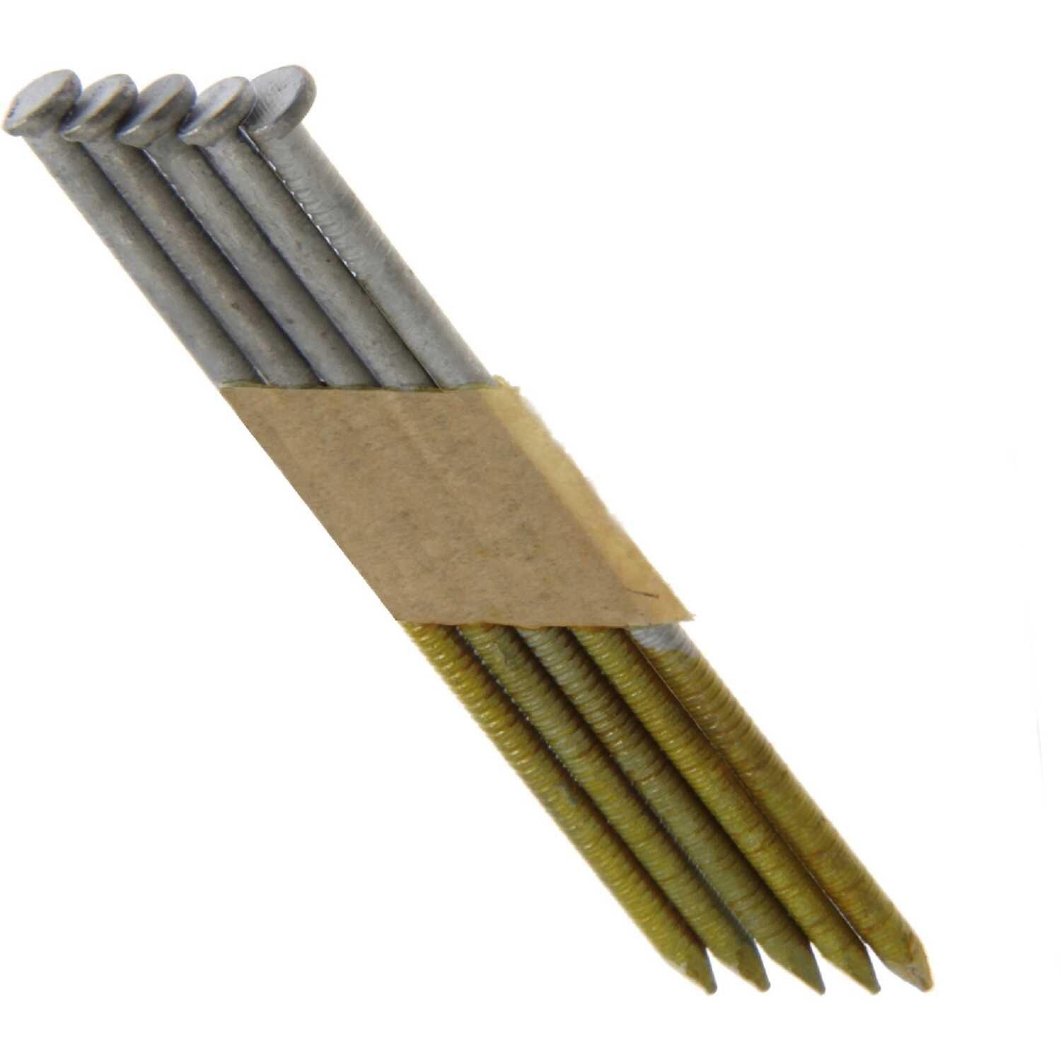 Grip-Rite  30 deg. 11-1/2 Ga. Ring Shank  Angled Strip  Framing Nails  2-3/8 in. L x 0.11 in. Dia. 1