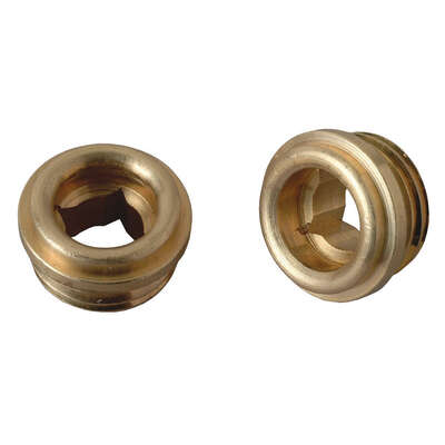 Brasscraft  1/2 - 20 in. #10  Brass  Faucet Seat  Sayco  2 pk