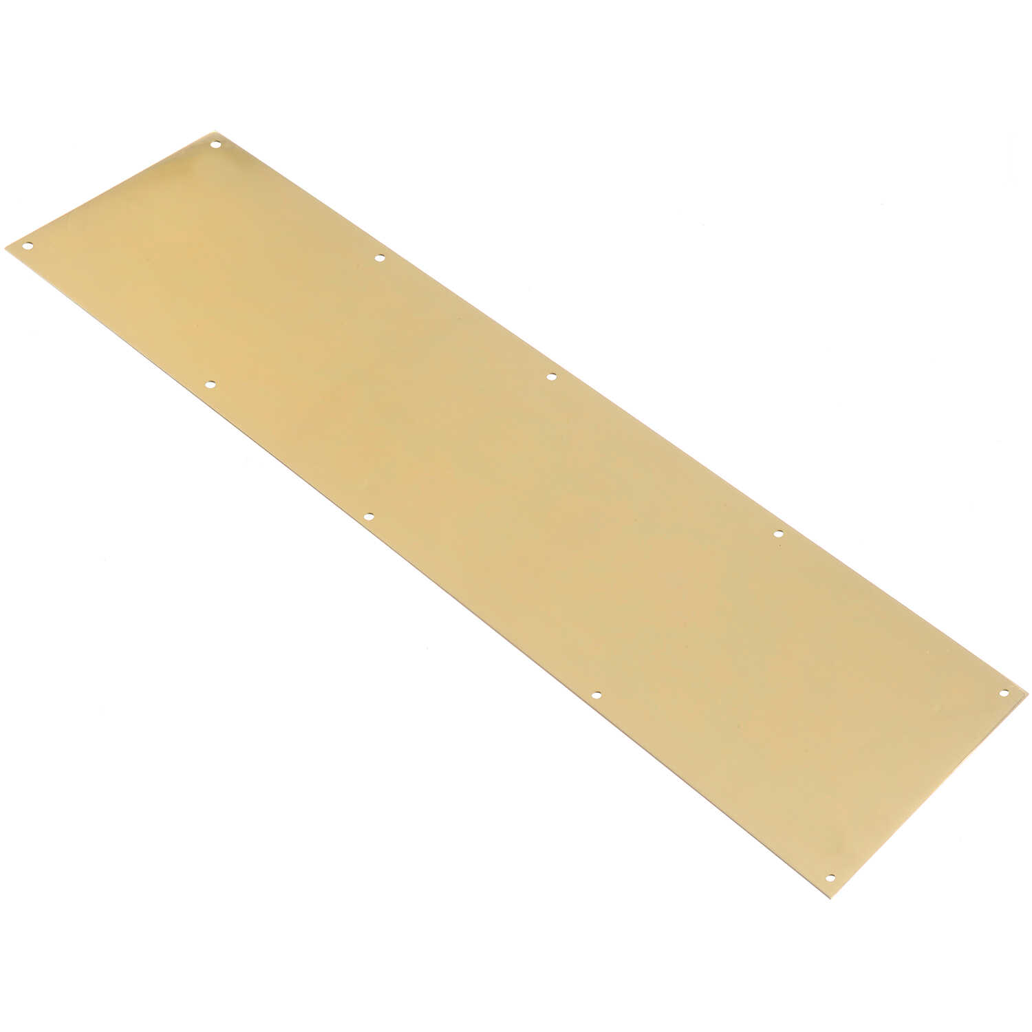 Ace  8 in. H x 30 in. L Bright Brass  Brass  Kickplate
