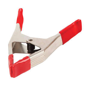 Bessey  3  Steel  Spring Clamp  Red
