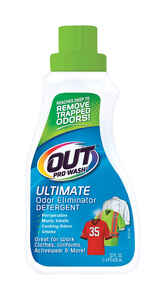 Out ProWash  No Scent Laundry Detergent  Liquid  22 oz. 1 pk