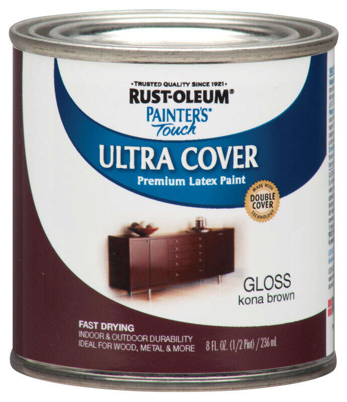 Rust Oleum Painters Touch Ultra Cover Gloss Kona Brown