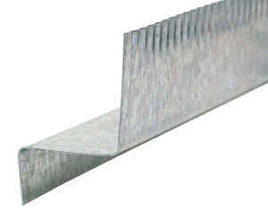 Amerimax  2 in. W x 10 ft. L Galvanized Steel  Roof Flashing Drip Edge  Silver