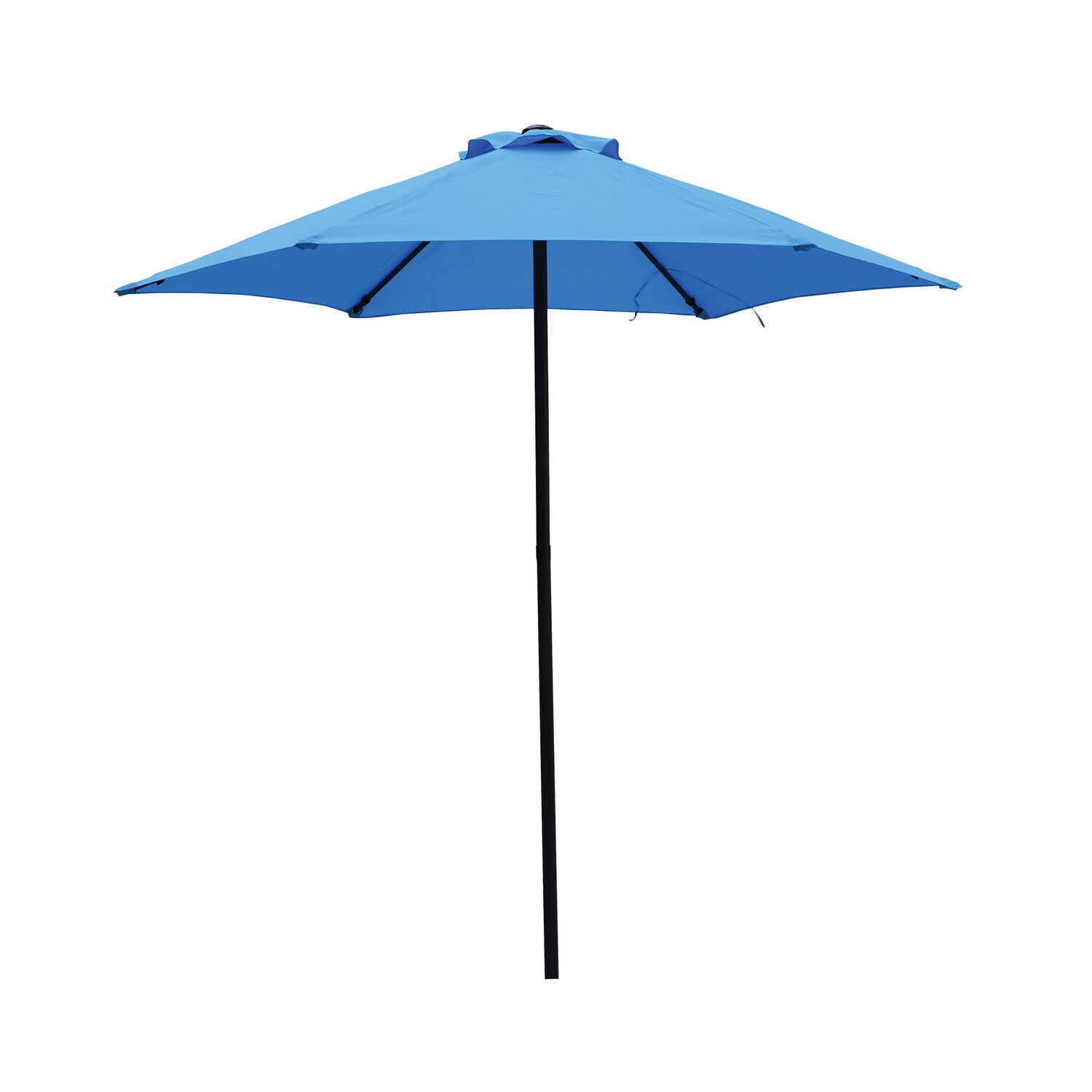 Living Accents  7.5 ft. Blue  MARKET  Patio Umbrella