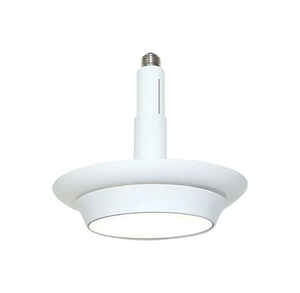 CooLEDlite  Matte  White  4/5/6 in. W Plastic  LED  Recessed Light  12 watts