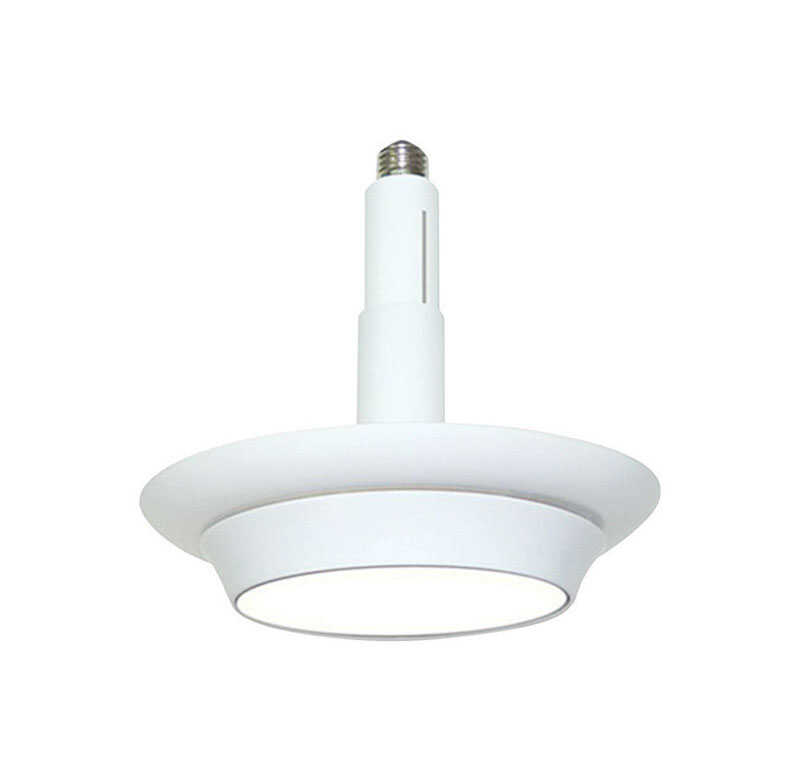 CooLEDlite  Matte  4/5/6 in. W Plastic  Recessed Light  12 watts LED  White