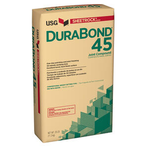 Sheetrock  DuraBond 45  Natural  Joint Compound  25 lb.
