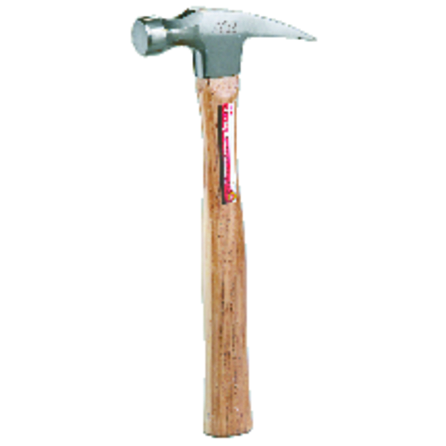 Ace 16 oz. Smooth Face Rip Claw Hammer Hickory Handle