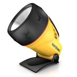 Rayovac Workhorse 75 lumens Black/Yellow Floating Lantern