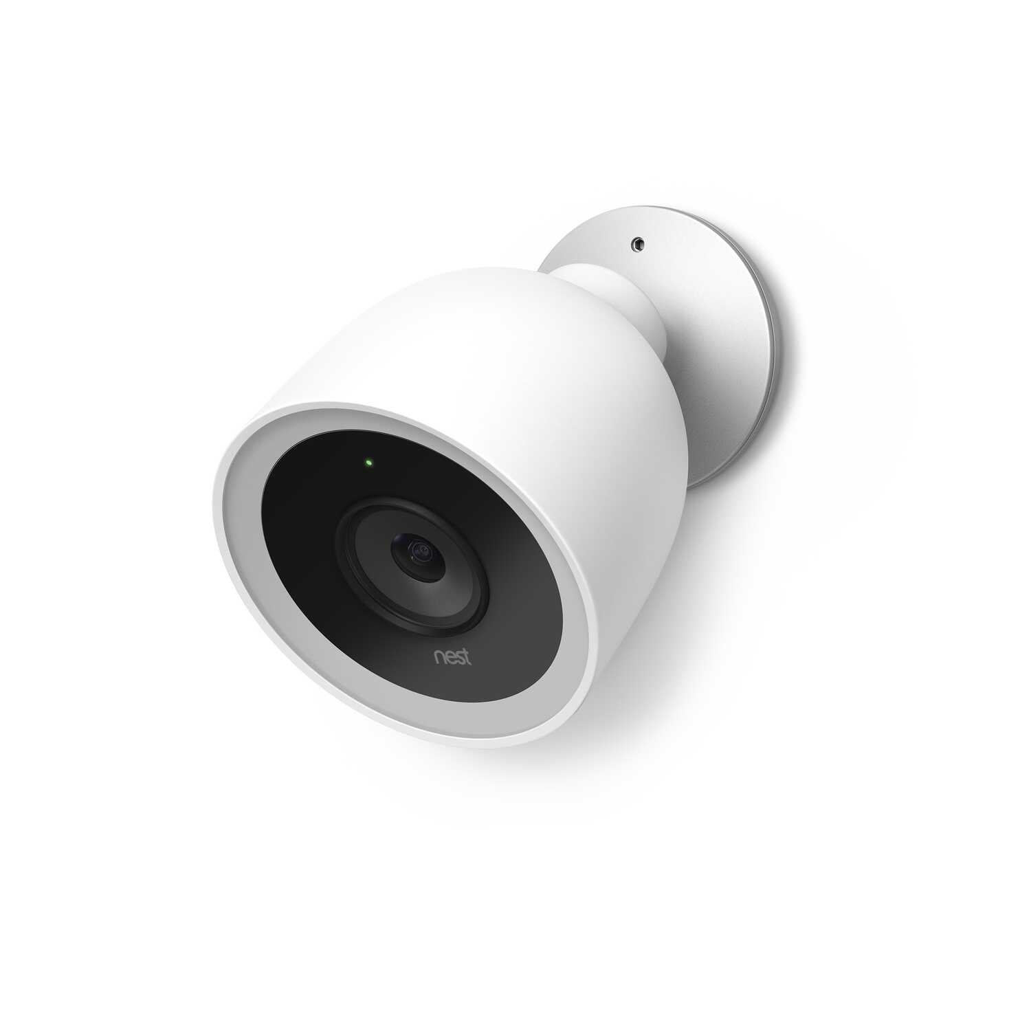 Nest  Plug-in  Outdoor  White  Wi-Fi Security Camera