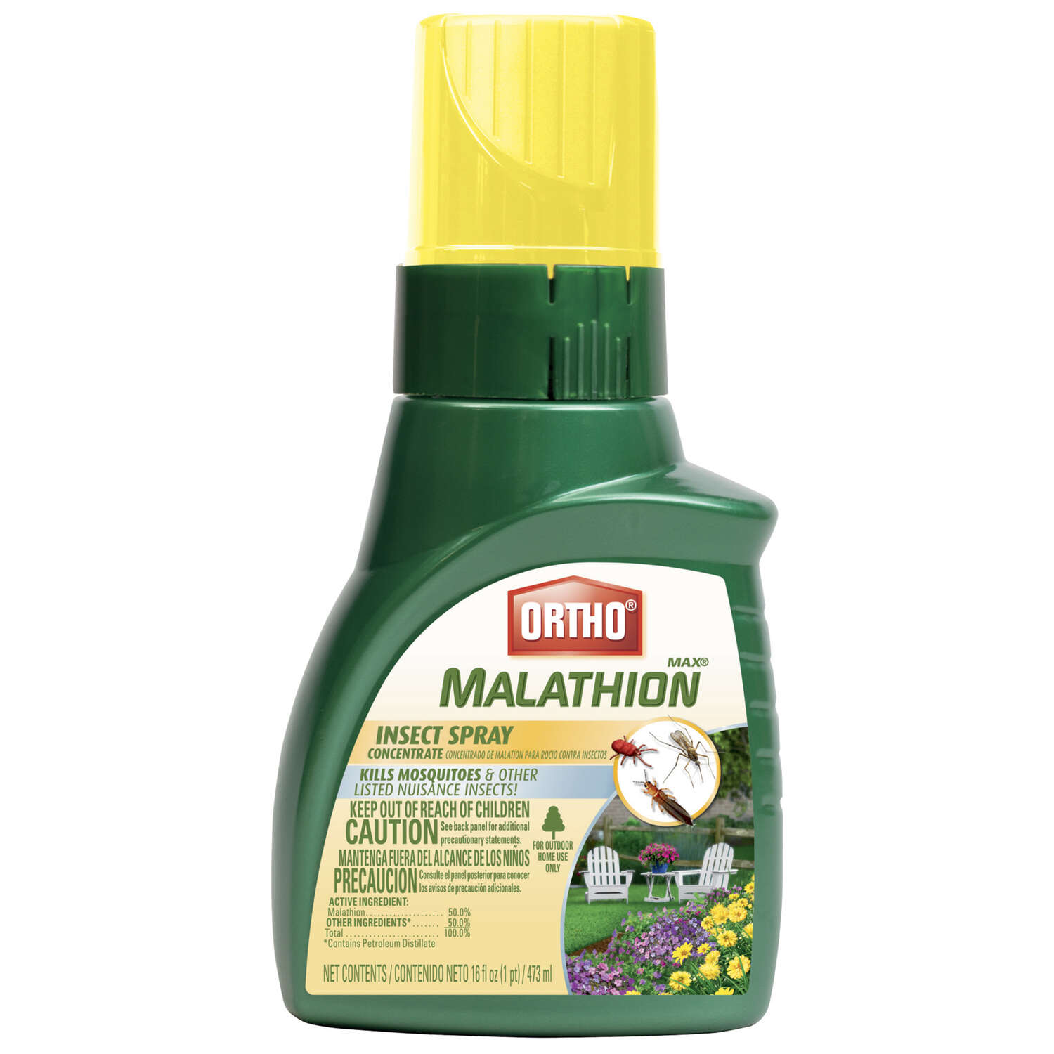 Ortho  Max Malathion  Liquid Concentrate  Insect Killer  16 oz.