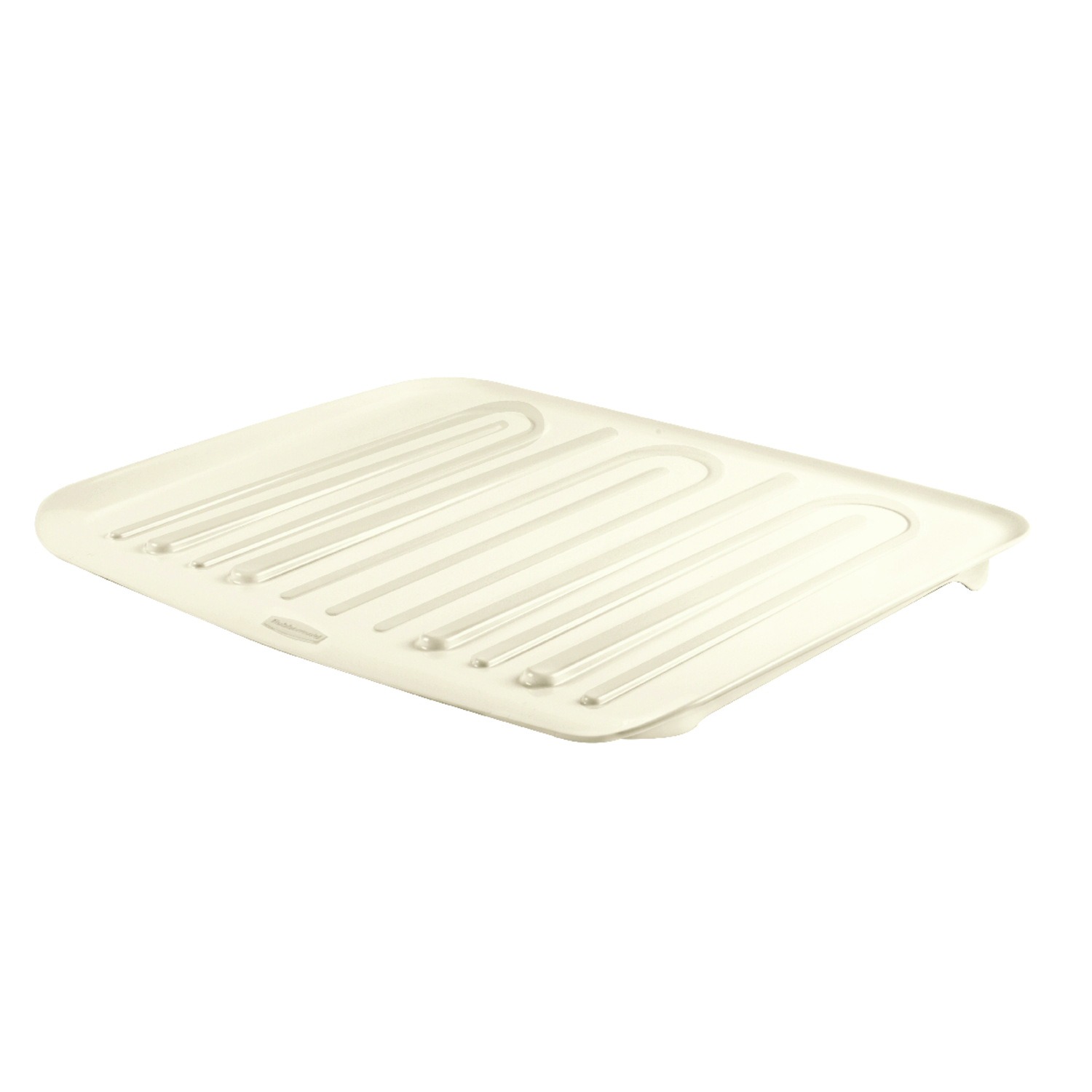 Rubbermaid  18 in. W x 14.7 in. L x 1.3 in. H Plastic  Bisque  Dish Drainer