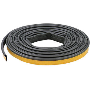 M-D Building Products  Black  Silicone  Weather Stripping  For Door 20 ft. L x 1/4 in.