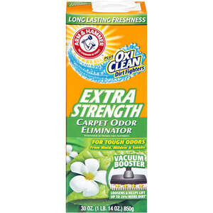 Arm & Hammer  Morning Floral Scent Carpet Odor Eliminator  30 oz. Powder