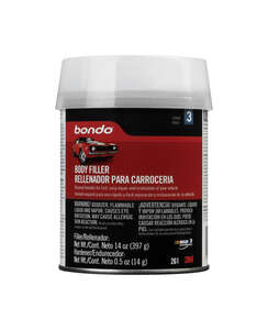 Bondo  Auto Body Filler  14 oz.