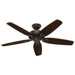 Hunter Fan  Builder Elite Outdoor  52 in. New Bronze  Indoor and Outdoor  Ceiling Fan